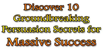 Covert Persuasion Secrets and Mind Control Techniques for Massive Success