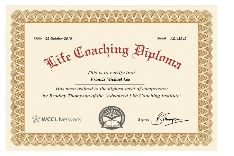 introducing life coaching Over the next three months, joe's new life coach john mcnamara will contribute a special series of articles focusing on the field of life coaching and personal.